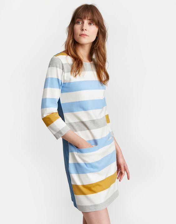 046787edd9e JADE Jersey Woven Mix Tunic | Summer Breeze shit | Joules clothing ...