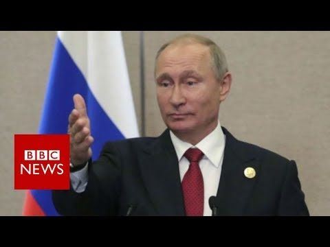 North Korea nuclear crisis: Putin calls sanctions useless - BBC News - YouTube