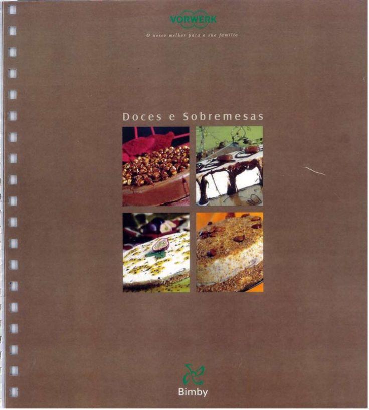 Livro Bimby - Doces e Sobremesas