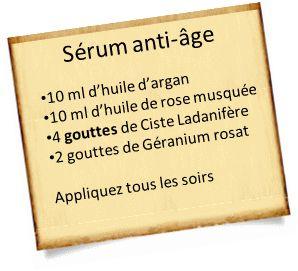 anti âge avec l'huile de rose musquée
