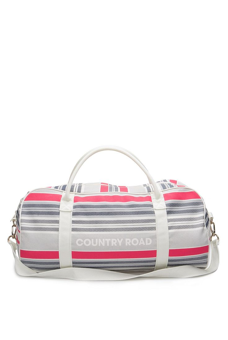 Buy Fine Stripe Logo Tote from Country Road at Westfield or buy online from the Country Road website.