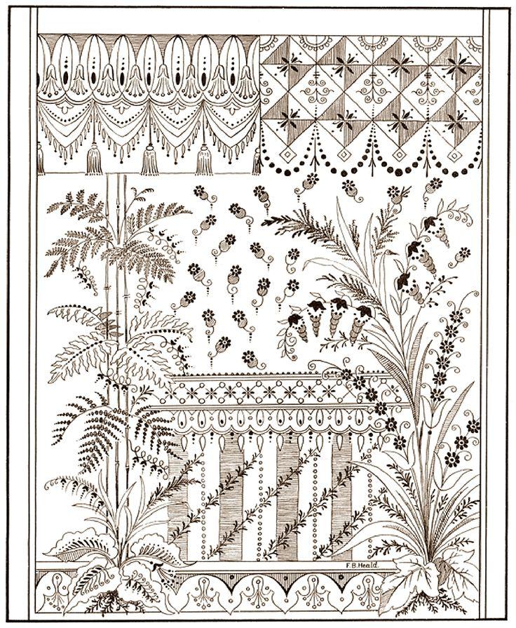 """Книга """"600 Decorative Floral designs"""". Всё в ажуре))). Обсуждение на LiveInternet - Российский Сервис Онлайн-Дневников"""
