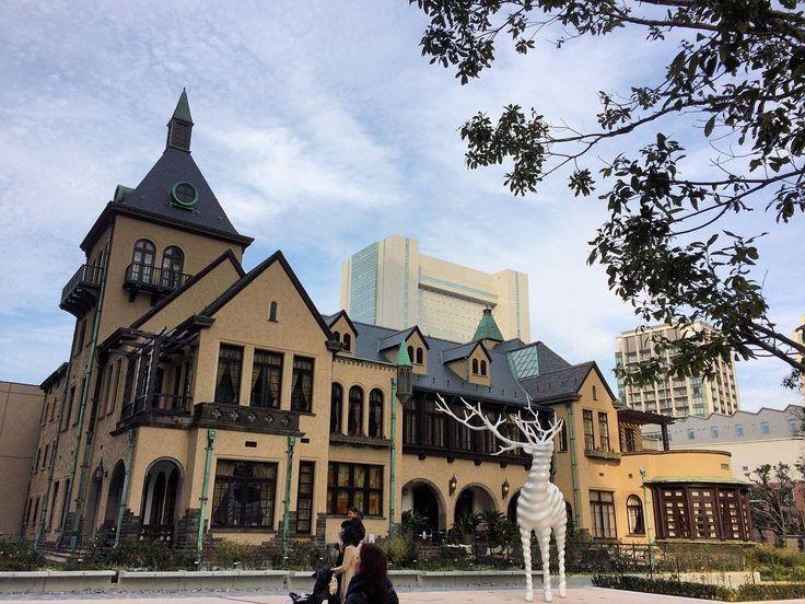 赤坂プリンスクラシックハウス赤坂プリンスホテルは解体されたが旧館のこの建物が保存されて残っている#akasakaprince #classichouse #kioicho #tokyo #hotel