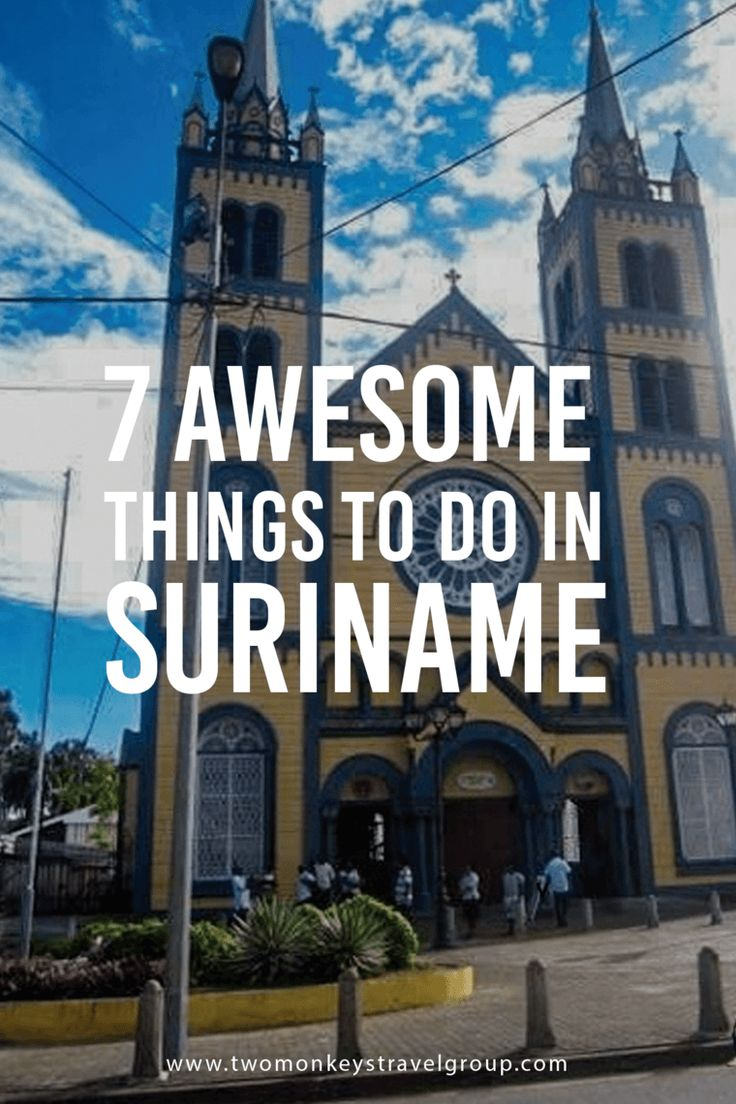 7 Awesome Things To Do in Suriname The Inner City of Paramaribo is a UNESCO WORLD HERITAGE SITE. Although entry to historic museums charges 15-20 SRD, it is all worth it, while the rest of the walkthrough tour is absolutely free, and done in your own leisurely pace. PRECAUTION: Always have with you water as long walks can get you dehydrated especially during the dry seasons (Aug-Nov and Feb-Apr).