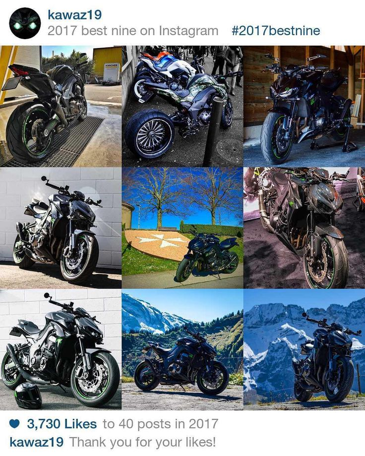 Thank you for this amazing year ! #2017bestnine   I hop I can take more pics in #2018 😄  Wish you all the best for 2018 🎉  _____________________________________________  #kawasaki #z1000 #zrefinedraw #kawasakiswitzerland #kawasakischweiz #kawasakiconnect #teamgreen