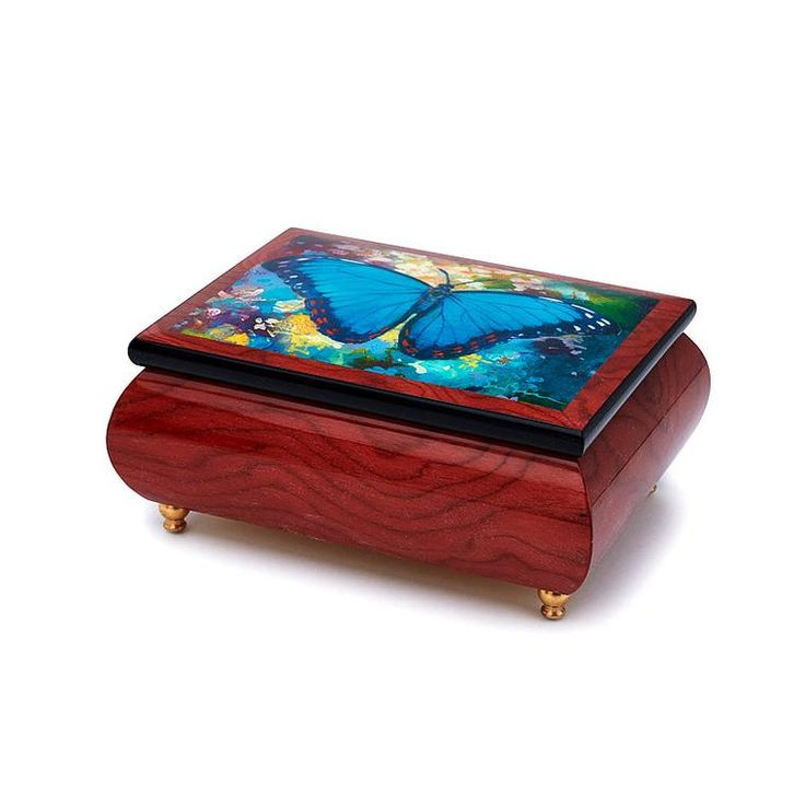 "Jewellery Box with Melody playing ""The God Father by El Padrina"""