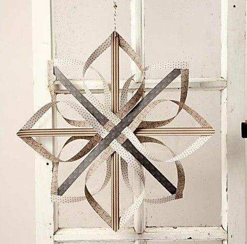 Paper star. DIY