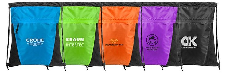 Custom drawstring bags, the gift that keeps on giving well past that marathon or 5k.