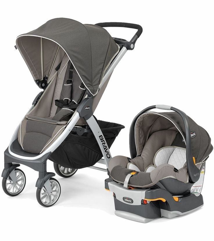 Chicco Bravo Trio Travel System Papyrus Infants
