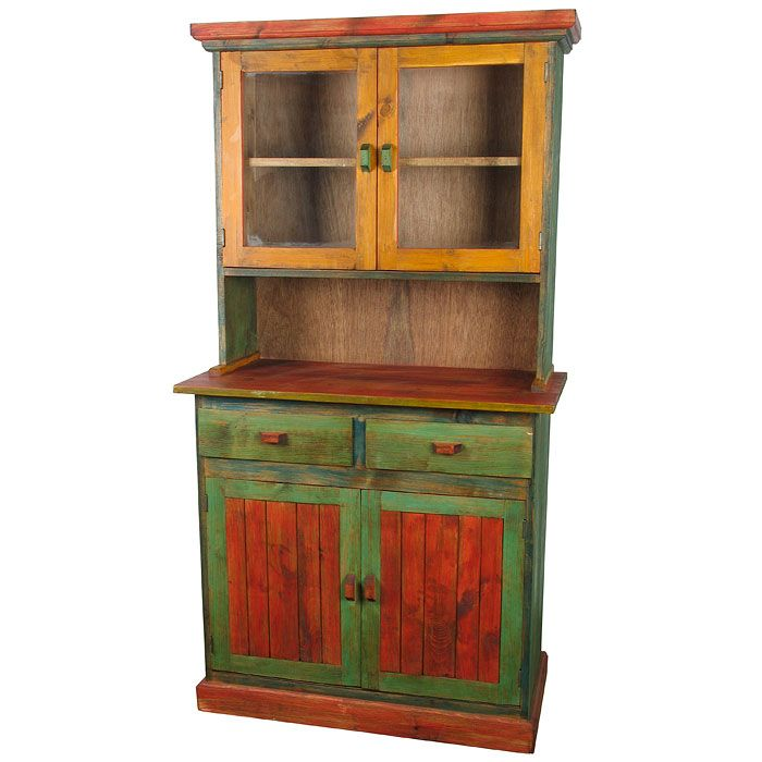 Furniture Dining Room Cupboard Country Painted