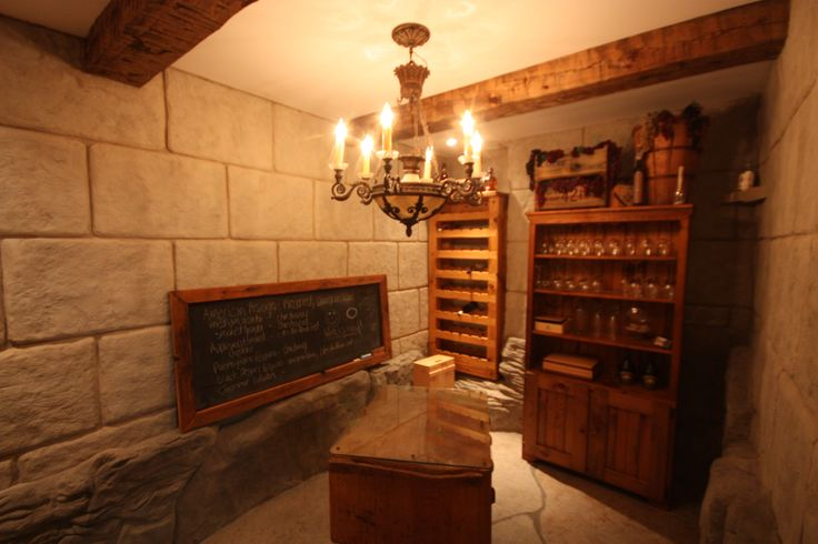 A very cool wine cellar that Hickory Dickory Decks made in Flamborough in the basement of a commercial building using Flex-C-Ment.