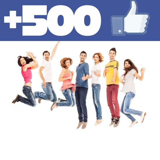 Buy 500 Facebook Likes. No Password Required.  $6.99