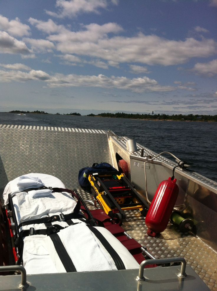 Just another day in the life of a parry sound paramedic