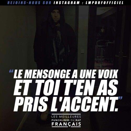 Rap français.