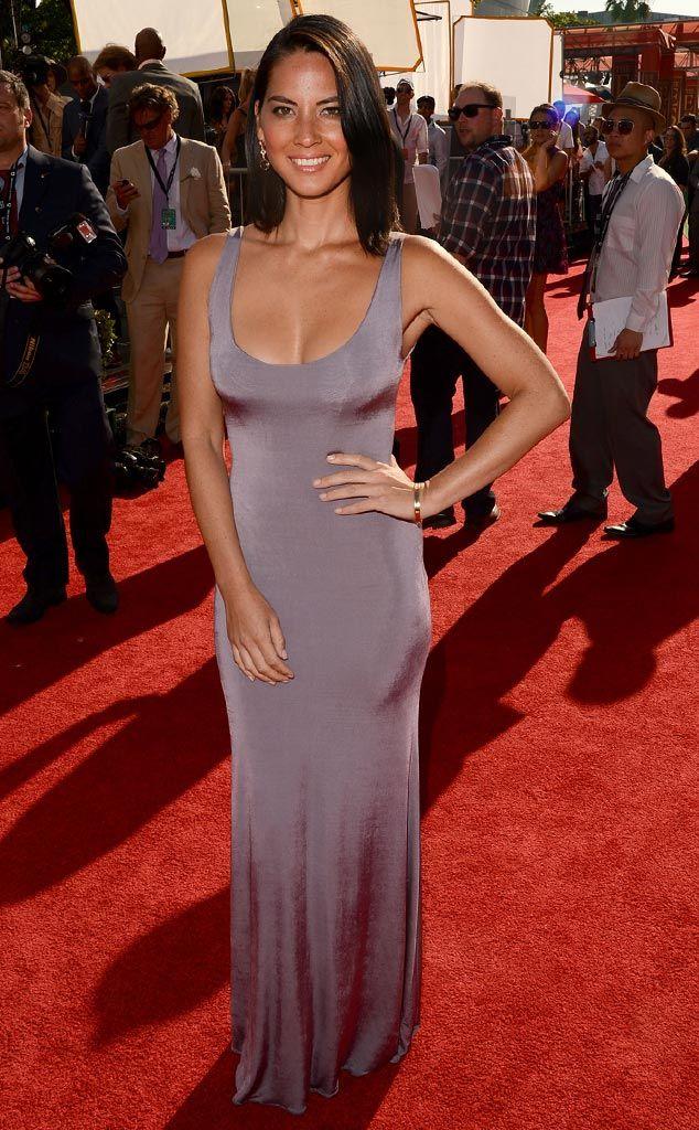 Silky Sheen from Olivia Munn's Best Looks | E! Online