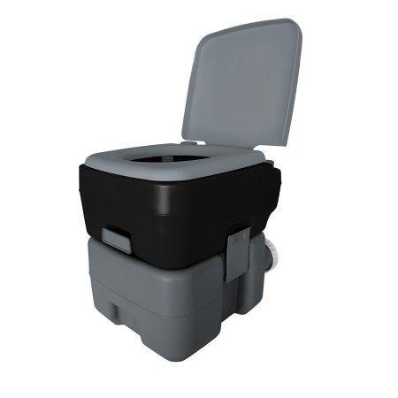 Reliance Portable Toilet 3320 5 Gallon Black