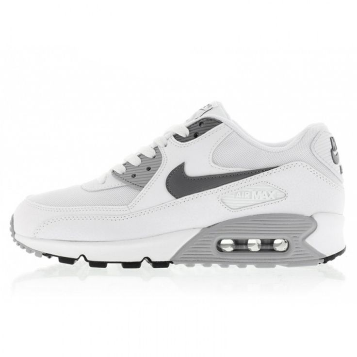 Quick Buy Nike Air Max 90 Essential White Cool Grey Womens/Mens Shoes &  Trainers to enjoy the Best Discount Prices.
