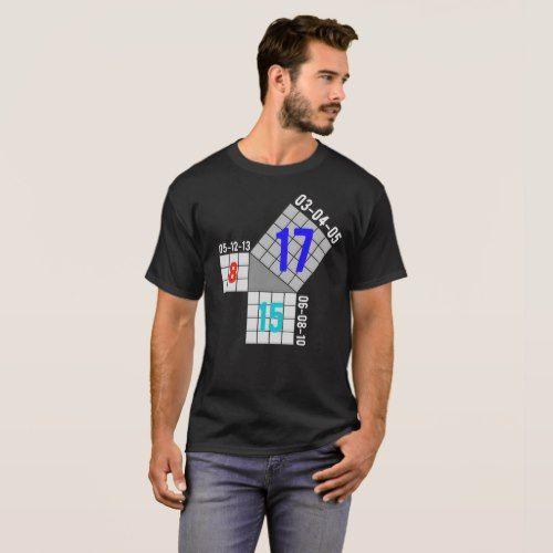 Pythagorean Triple Day 8/15/2017 T-shirt