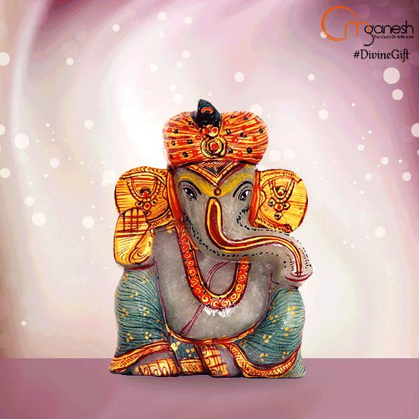 In order to obtain better results in all ventures, boost the emotional and spiritual growth by presenting the #DivineGift of Lord Ganesha Idols, made from Moonstone.  http://bit.ly/1IGDQsf
