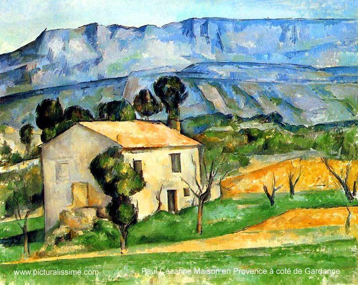 Paul Cézanne - Maison en Provence a cote de Gardanne