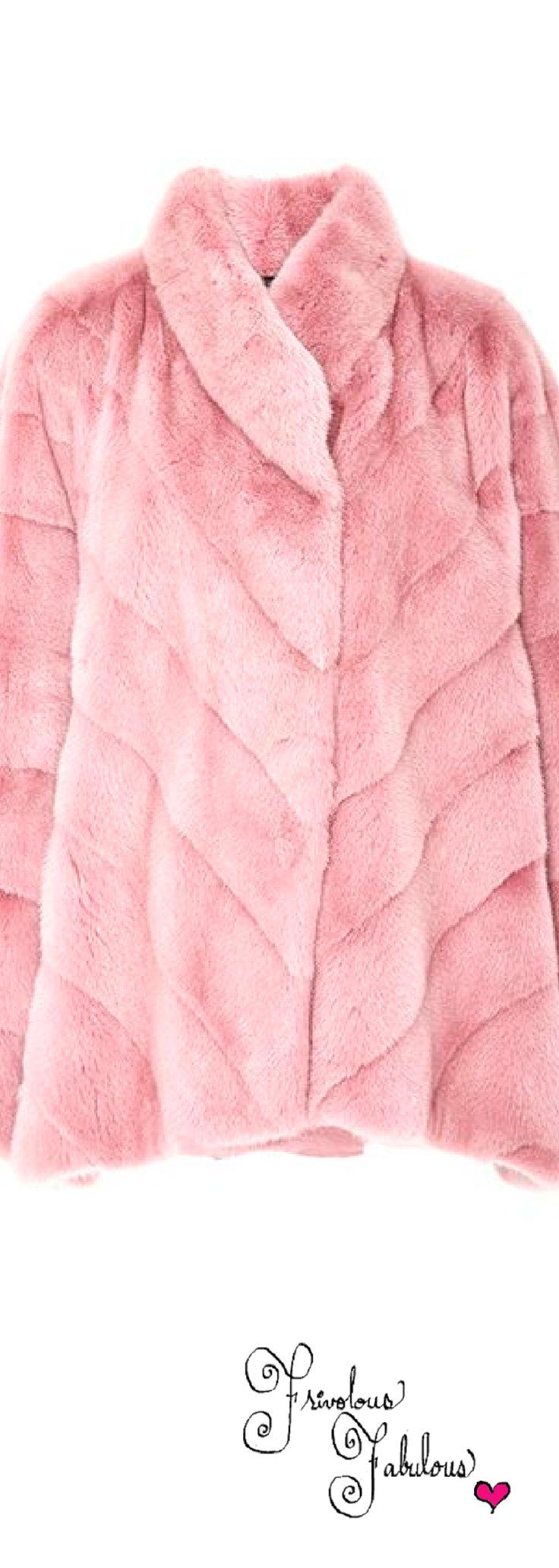 Frivolous Fabulous -  Reversible Mink Jacket by Helen Yarmak for Miss Frivolous Fabulous
