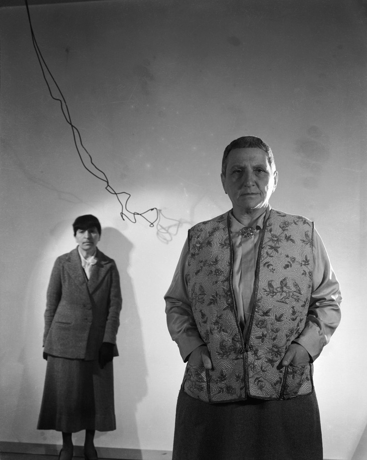 """""""A Man of extraordinary vision"""" KB Gertrude Stein & Alice B. Toklas by Man Ray"""