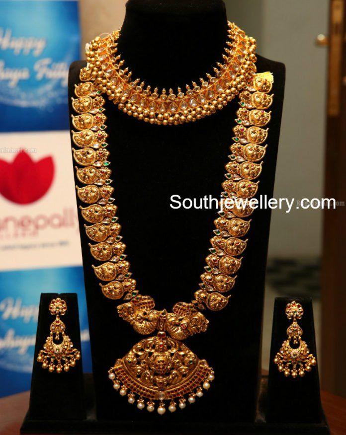 Bridal Antique Gold Choker Photo Necklace Designs Gold Jewelry Fashion Choker Necklace Designs
