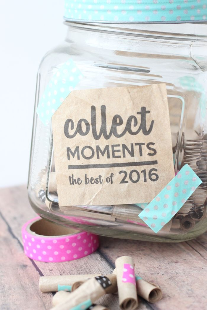 How to Make a Memory Jar for 2016