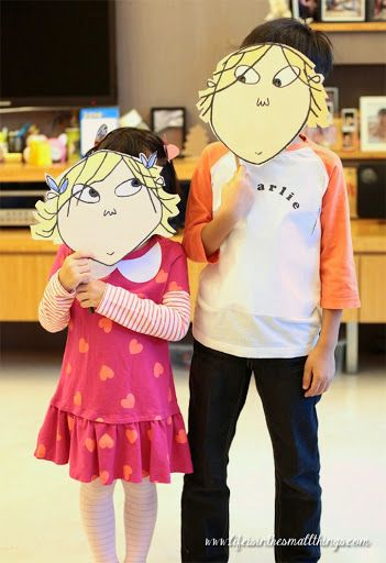 Brilliant, easy Charlie & Lola costumes!