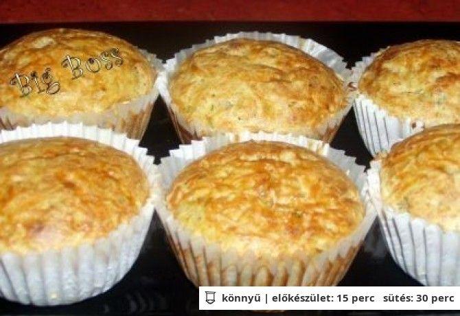 Vörös lencsés muffin