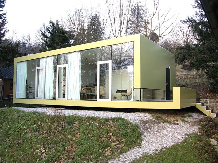 153 best images about casa on pinterest smart house for Fertigteilhaus container