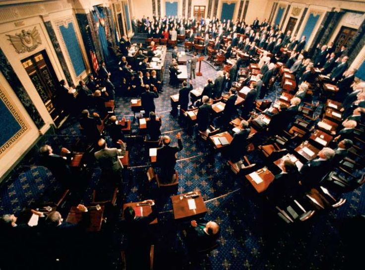 Today In History: January 7:     1999: Impeachment trial of President Bill Clinton  -   The impeachment trial of US President Bill Clinton opens in the US Senate.