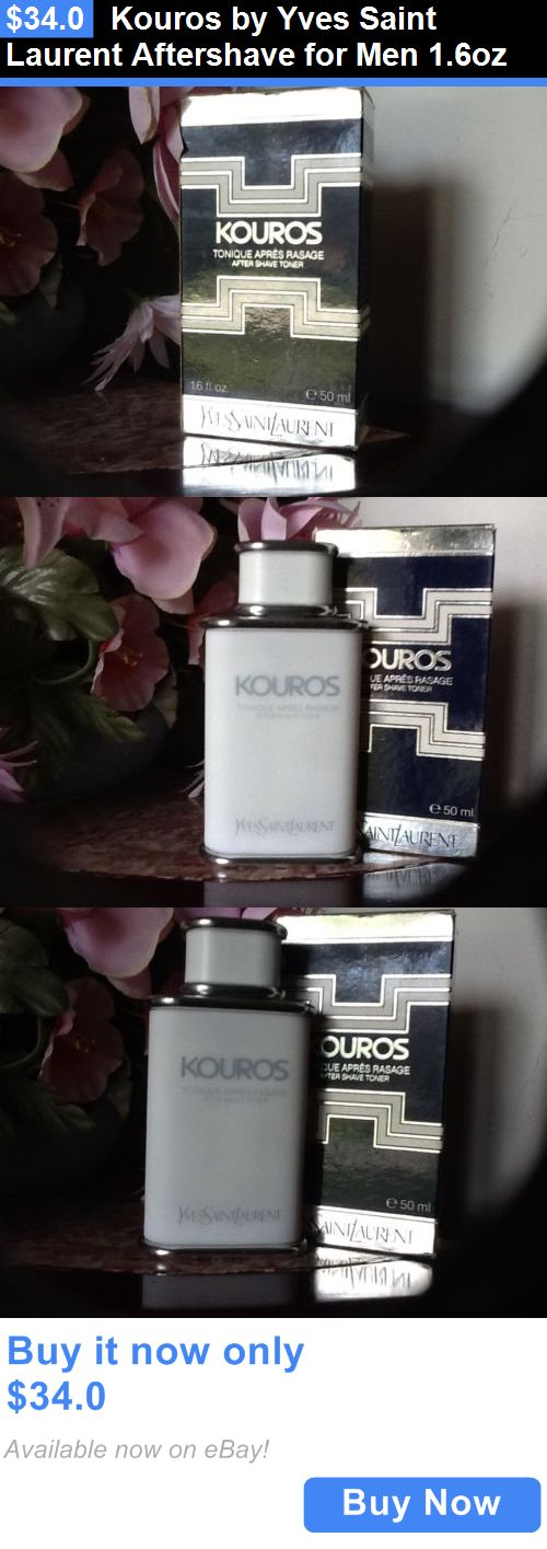 Aftershave and Pre-Shave: Kouros By Yves Saint Laurent Aftershave For Men 1.6Oz BUY IT NOW ONLY: $34.0