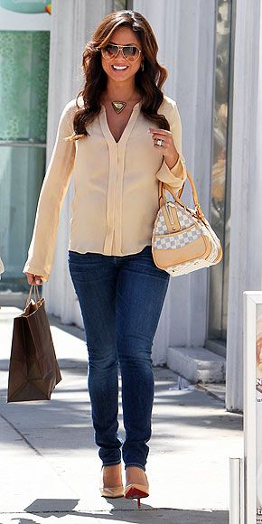 Vanessa Minnillo, Lachey Maternity Style