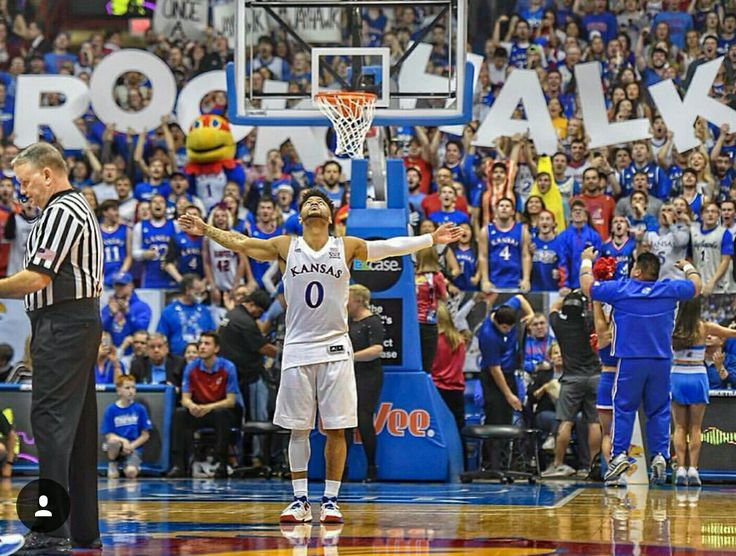 Kansas University is my favorite sports team to watch. I've been a KU fan my whole life and I just enjoy watching KU sports.