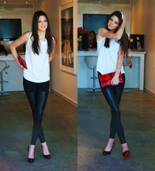 Kendall Jenner outfit style