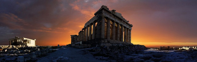 Athene, Acropolis at sunrise photo credits: Batistini Gaston http://www.flickr.com/gbatistini