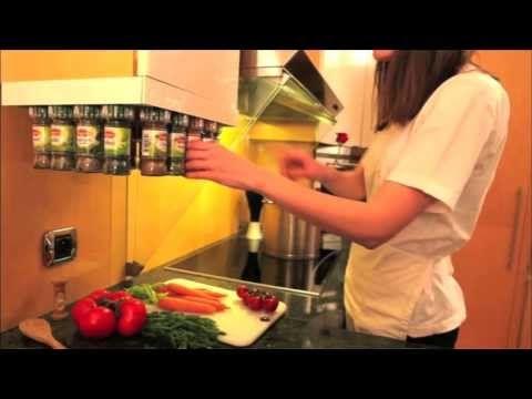 WinChef - Carrousel à épices - Comment ranger ses épices - Rangement à épices du monde - Caroussel à épices