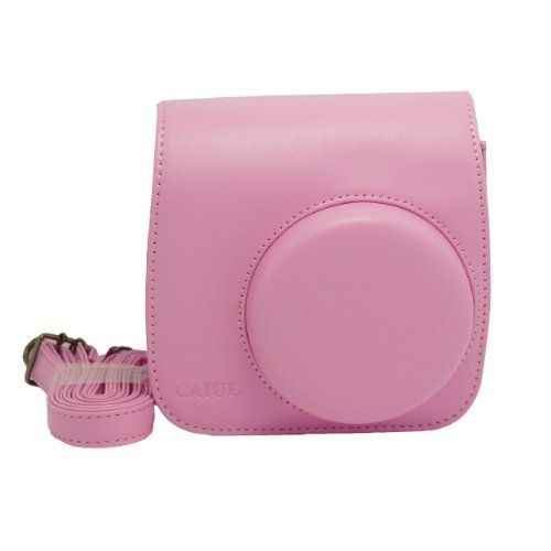 NodArtisan Light Pink PU Leather Fujifilm Instax Mini 8 Case:Amazon:Camera & Photo