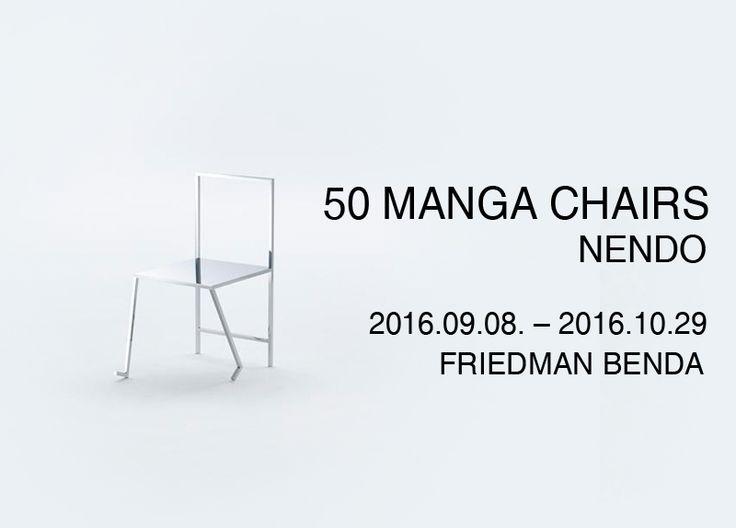 Manga Chair, 2015 Stainless Steel 51 x 45.75 x 32 inches 129.6 x 116.5 x 81.5 cm Edition of 3   50Manga Chairs NENDO展 Installation 2016.09.08 -2016.10.29 #관람시간 10:00am-06:00pm (Tue-Sat)
