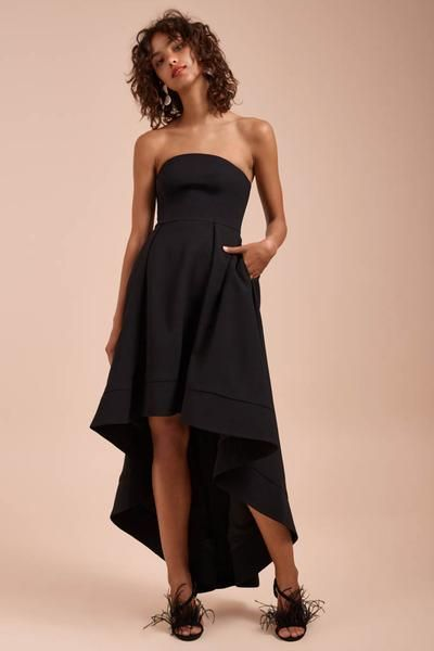 0b9baf195938 C/meo Collective - Entice Strapless Gown - Lalabazaar | Outfits ...