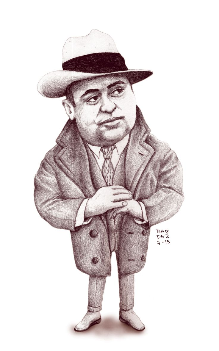 Al Capone Caricature