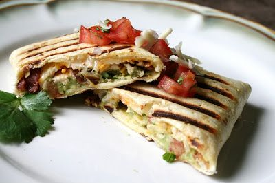 I Thee Cook: California Club Grilled Burritos