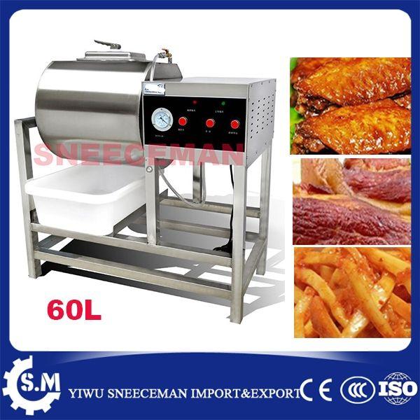 672.00$  Buy now - http://ali08p.shopchina.info/1/go.php?t=32817406753 - 60L Commercial Vacuum Meat Salting Marinated Machine hamburger pickling vacuum curing machine bloating marinated machine  #buyininternet