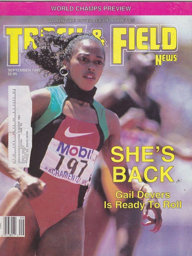 Sept 1995 Track and Field News Sports Magazine Gail Devers   eBay