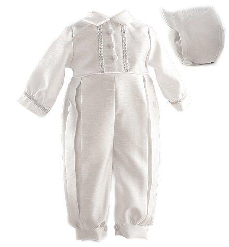 Lauren Madison baby boy Christening Baptism Infant Shantung Full Length Romper , White, 9-12 Months Lauren Madison http://www.amazon.com/dp/B00556WITK/ref=cm_sw_r_pi_dp_b6bYwb07NH5A7