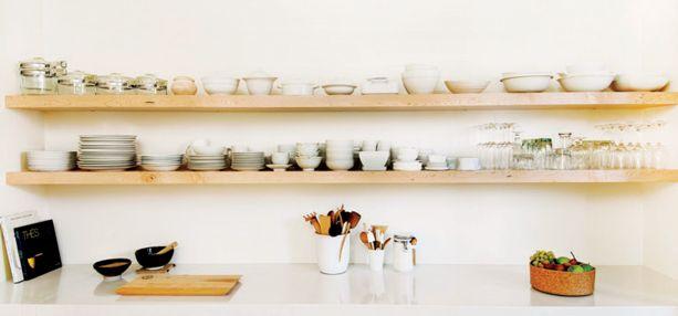 Réno: cuisine nature, fonctionnelle et épurée   Décormag