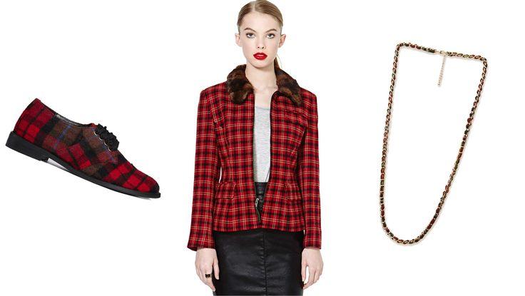 Fall 2014 Fashion Trends: 9 Ways To Wear Plaid   StyleList Canada