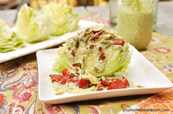 how to cut iceberg lettuce into wedges
