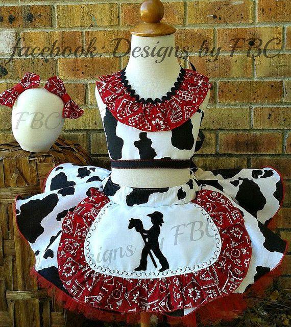 Cow Girl Pageant Wear OOC Casual Wear Custom Made by OriginalFBC, $125.00